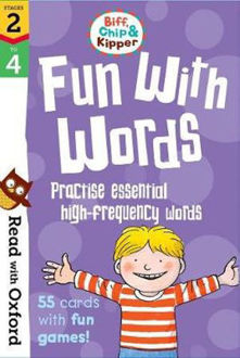 Picture of Read with Oxford Stages 2-4 Biff, Chip and Kipper Fun With Words Flashcards