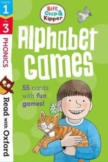 Picture of Read with Oxford Stages 1-3 Biff, Chip and Kipper Alphabet Games Flashcards