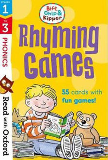 Picture of Read with Oxford Stages 1-3 Biff, Chip and Kipper Rhyming Games Flashcards