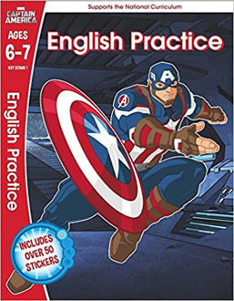 Picture of Captain America: English Practice