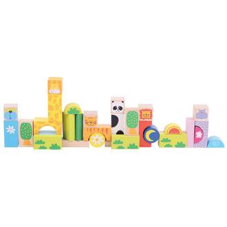 Picture of Safari Animal Building Blocks
