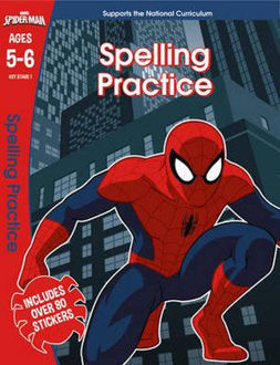 Picture of Spelling Practice - Spider-Man