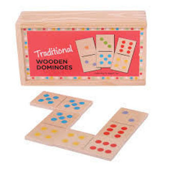 Picture of Traditional Wooden Dominoes