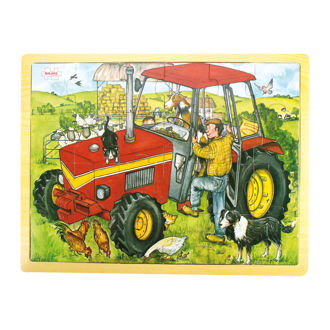 Picture of Tray Puzzle Tractor