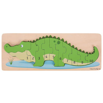 Picture of Crocodile Number Puzzle