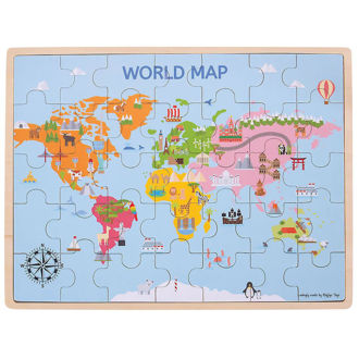 Picture of World Map Puzzle