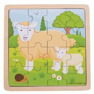 Picture of Sheep & Lamb Puzzle