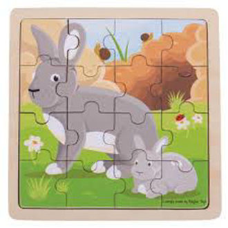 Picture of Rabbit & Kitten Puzzle