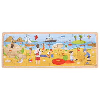Picture of At The Seaside Puzzle