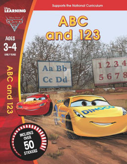 Picture of Disney Learning: Cars 3: ABC and 123