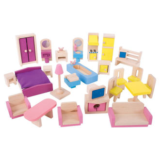 Picture of Heritage Playset Doll Furniture Set