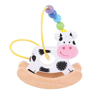 Picture of Rocking Bead Frame - Cow