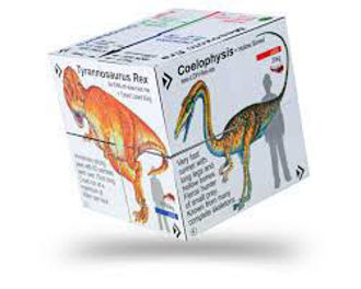 Picture of ZooBooKoo Factual Dinosaur - T-Rex & Friends Cube Book