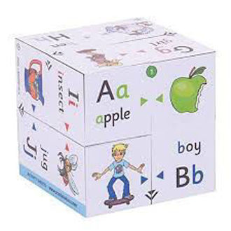 Picture of ZooBooKoo Educational Alphabet First Phonics and Color Matching Cube Book