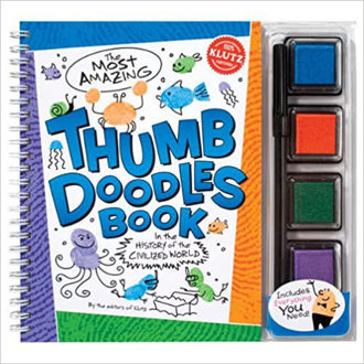 Picture of The Most Amazing Thumb Doodles Book : In the History of the World