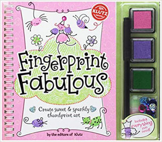 Picture of Fingerprint Fabulous : Create Sweet and Sparkly Thumbprint Art