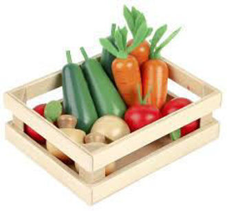 Picture of Wooden Winter Vegetables