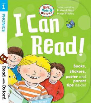 Picture of Read with Oxford Stage 1 Biff, Chip and Kipper I Can Read Kit