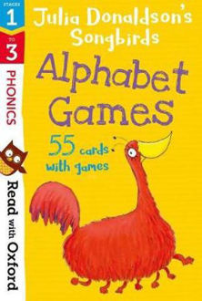 Picture of Read with Oxford Stages 1-3 Julia Donaldson's Songbirds/ Alphabet Games Flashcards