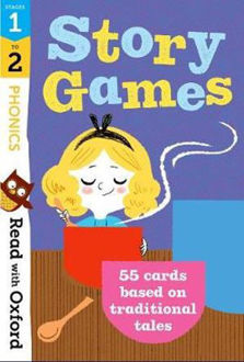 Picture of Read with Oxford Stages 1-2 Phonics Story Games Flashcards