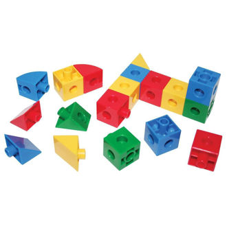 Picture of Super Snap Together Cubes Triangles and Sectors