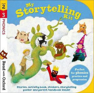 Picture of Read with Oxford Stages 2-3. Phonics: My Storytelling Kit