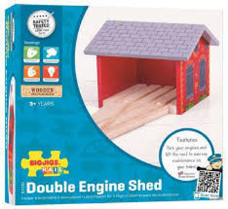 Picture of Double Engine Shed