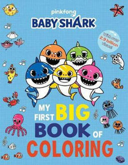 Picture of Pinkfong Baby Shark: My First Big Book of Coloring