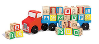 Picture of Alphabet  Wooden Truck