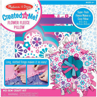 Picture of Create Your Own Flower Fleece Pillow