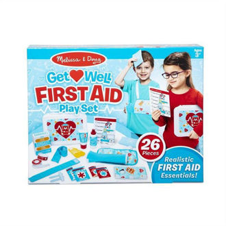 Picture of MELISSA & DOUG GET WELL FIRST AID KIT PLAY SET