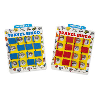 Picture of Flip and Win Travel Bingo