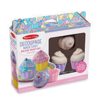 Picture of Decoupage Made Easy Deluxe Craft Set Cupcakes