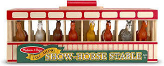 Picture of Take-Along Show-Horse Stable