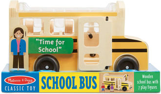 Picture of Wooden Classic School Bus