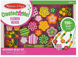 Picture of Wooden Bead Kits Flower Power