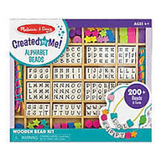 Picture of Wooden Bead Kits Alphabet Beads