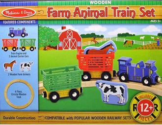 Picture of Farm Animal Train  Set