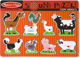 Picture of Farm Animals Sound Puzzle