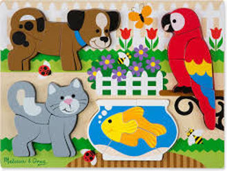 Picture of Chunky Jigsaw Puzzle - Pets