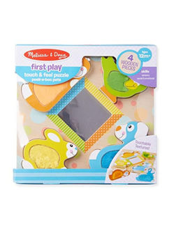 Picture of Peek-a-Boo Touch & Feel Puzzle