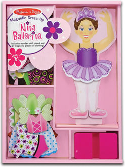 Picture of Nina Ballerina Magnetic Dress-Up