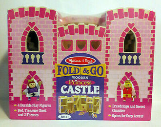 Picture of Fold & Go Princess Castle