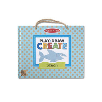 Picture of Play, Draw, Create Reusable Drawing & Magnet Kit - Ocean