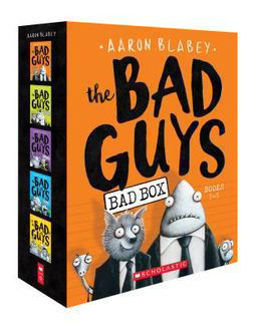 Picture of BAD GUYS BOX SET BOOKS 1- PPX