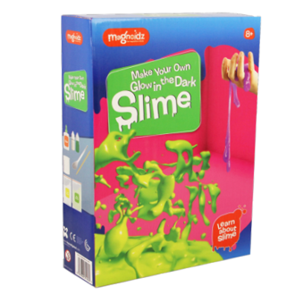 Picture of MAKE YOUR OWN GLOW IN THE DARK SLIME KIT