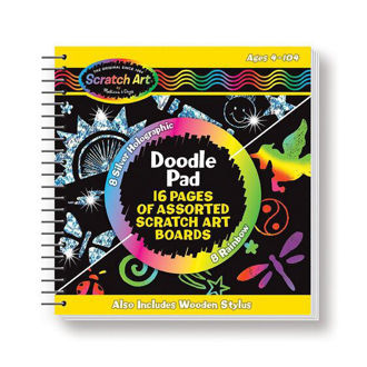 Picture of Scratch Art Doodle Pad Book