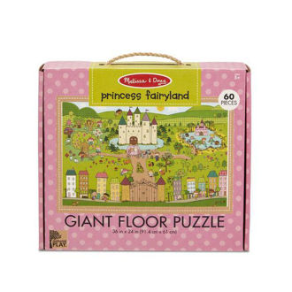 Picture of Natural Play Floor Puzzle: Princess Fairyland