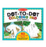 Picture of ABC 123 Dot-Dot Coloring Pad - Wild Animals