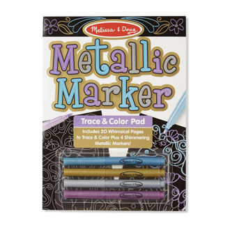 Picture of Metallic Marker Trace & Color Pad